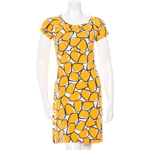 Diane Von Furstenberg Anisha A Line Ruched Dress